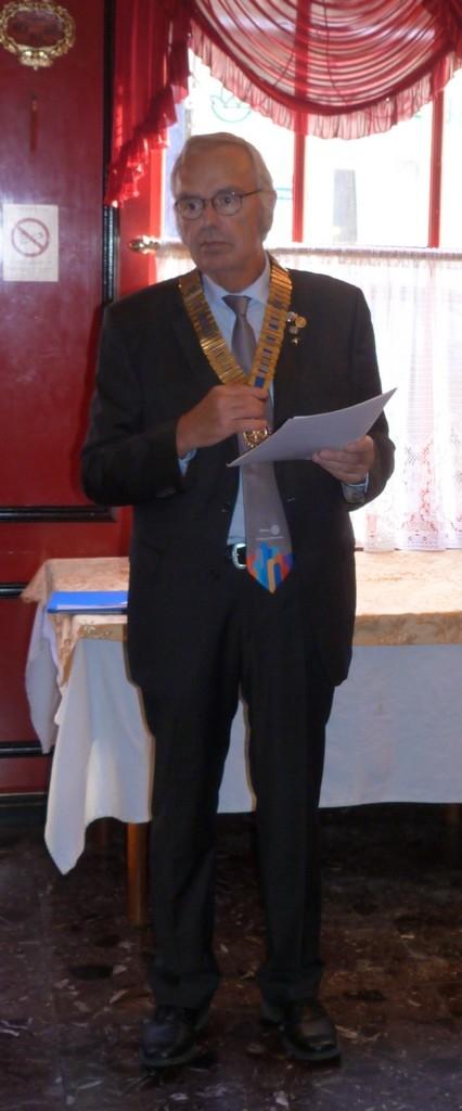 Lionel LEBRUN Président 2017-2018