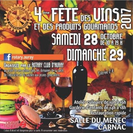 4éme Fête des vins et des produits gourmands